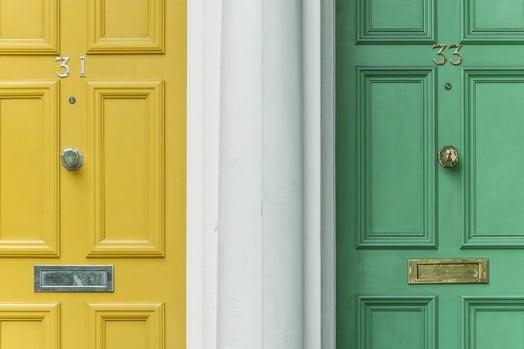 Airbnb Door