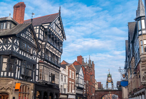timber buildings Chester