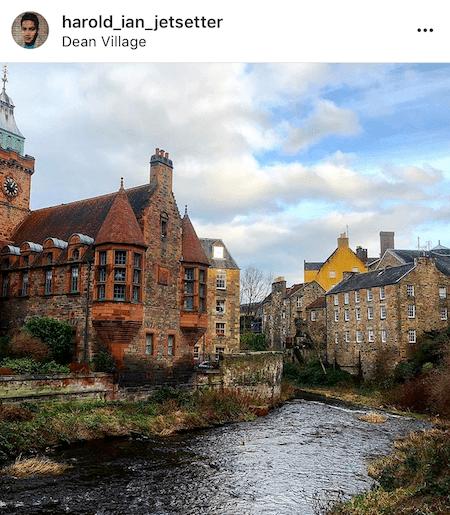 Edinburgh's Fairytale Neighborhood Dean Village 1