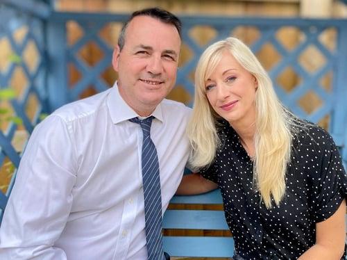 franchise owners Matt & Natalie Ray