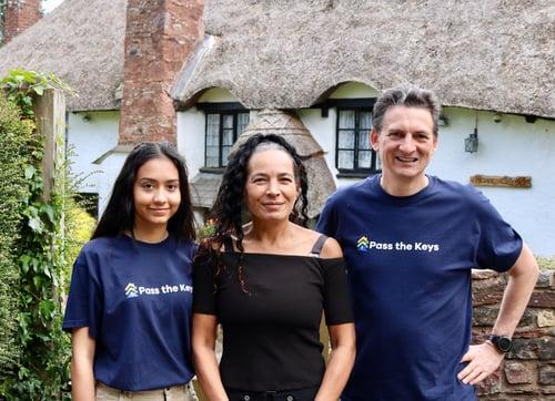 Meet the team! Danny, Leah and Jasmine