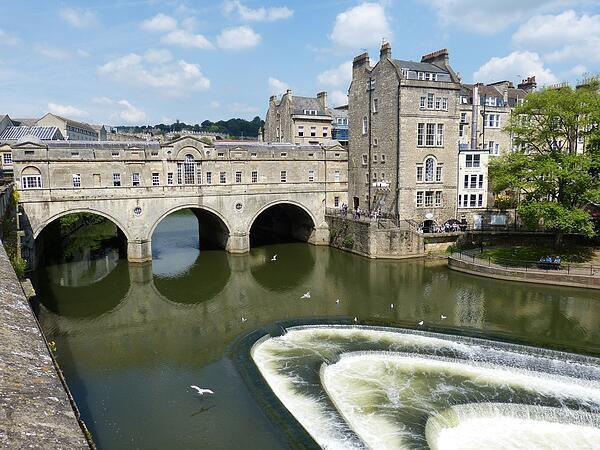 Bath UK tourist city popular
