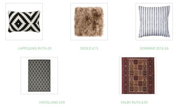 boost rental cushions interior