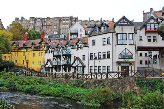 Edinburgh's Fairytale Neighborhood: Dean Village