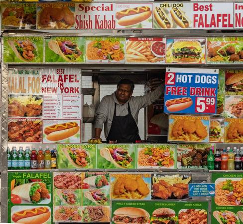 halal food near your short term let property