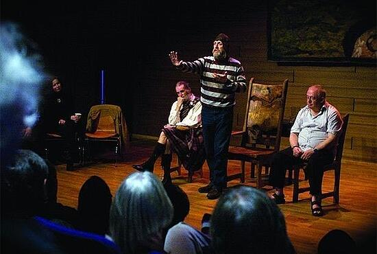 Edinburgh theatre shows tourist attractions