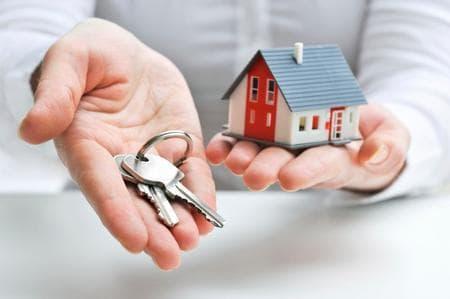 keys new home mortgage house