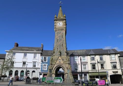 Machynlleth, Powys, Wales, UK