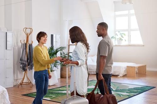 couple meet property host