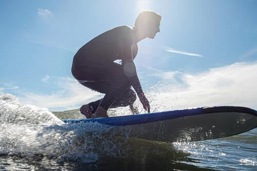 close up photo of surfer in sea at croyde